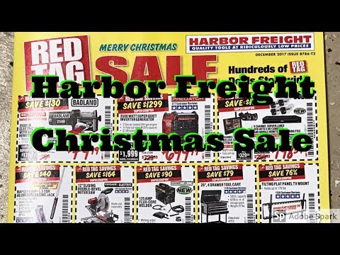 Harbor Freight Christmas Sale