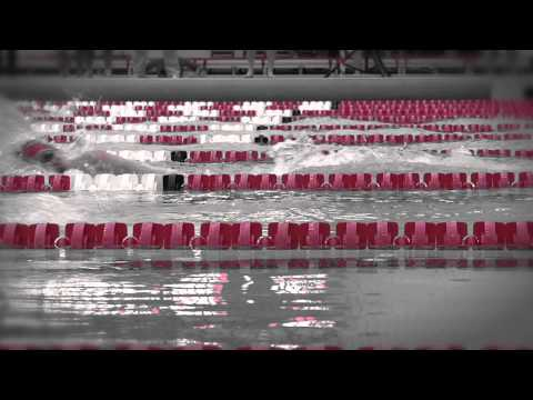 2012 Nebraska Swimming & Diving Tunnel Walk