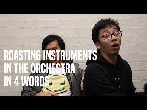 ROASTING ORCHESTRAL INSTRUMENTS!