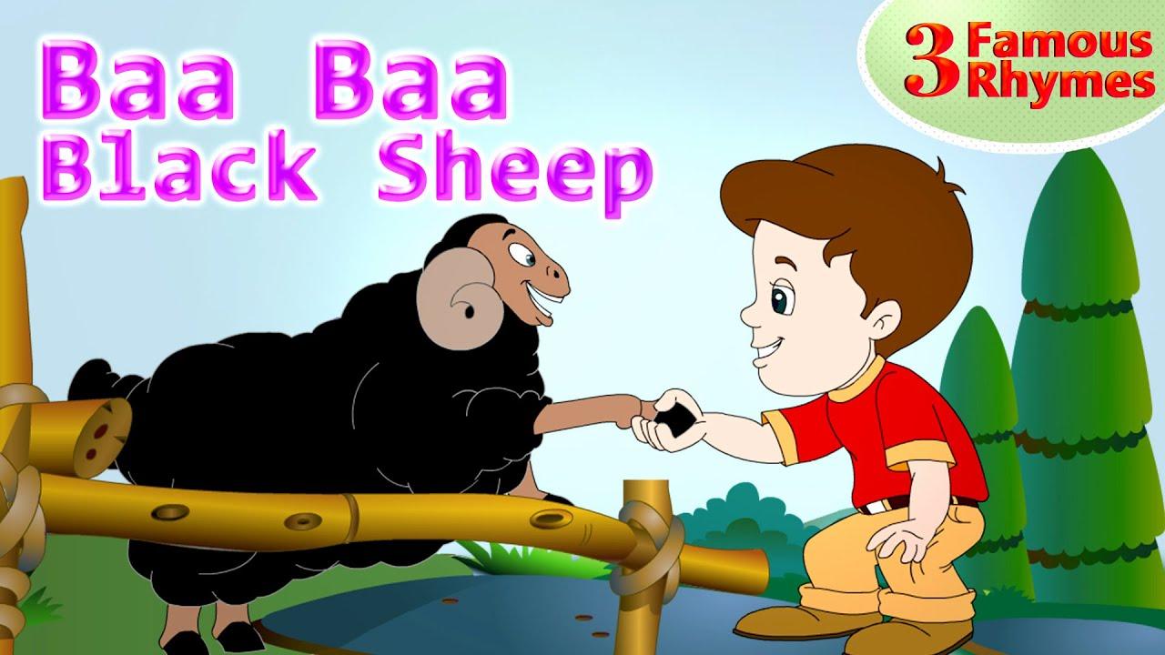 Baa Baa Black Sheep and Famous Nursery Rhymes | Animated Rhymes for Kids| Jingle Toons