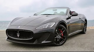 Maserati Grancabrio MC Stradale LOUD Ride!
