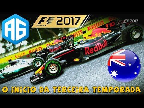 F1 2017 #41 GP DA AUSTRÁLIA - COMECEI ARRISCANDO TUDO NO INÍCIO DESSA NOVA TEMPORADA (Português-BR)