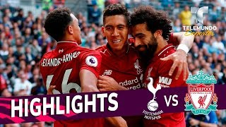 Tottenham vs. Liverpool: 1-2 Goals & Highlights | Premier League | Telemundo Deportes