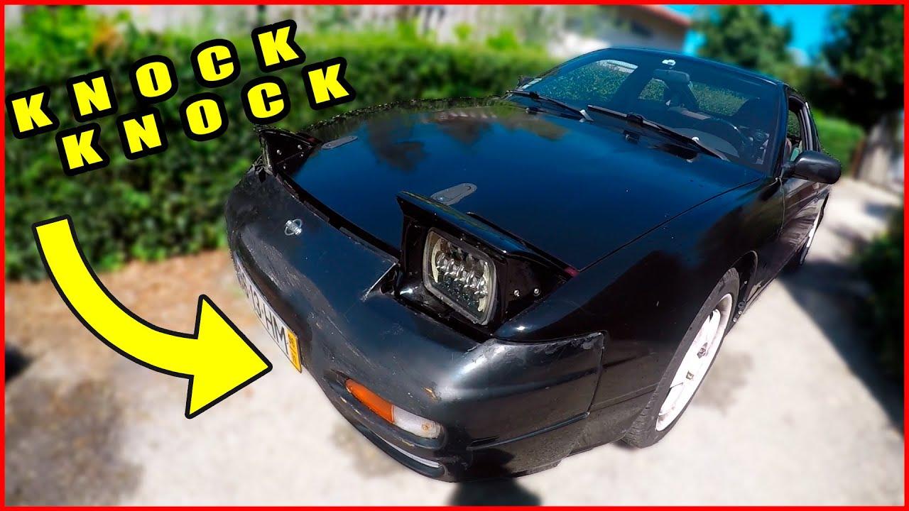 O MOTOR DO CARRO DE DRIFT AVARIOU! (POV) - 200SX S13 CA18DET Rod Knock
