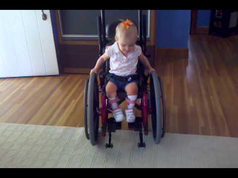 June In Her Wheelchair Toddler In Her Wheelchair 18
