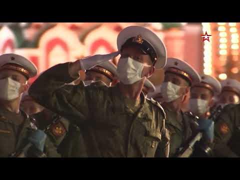 На Красной площади прошла итоговая ночная репетиция парада Победы