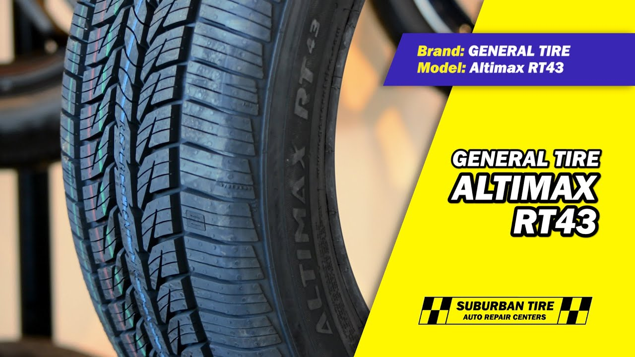 General tire altimax rt43 youtube for General motors service center