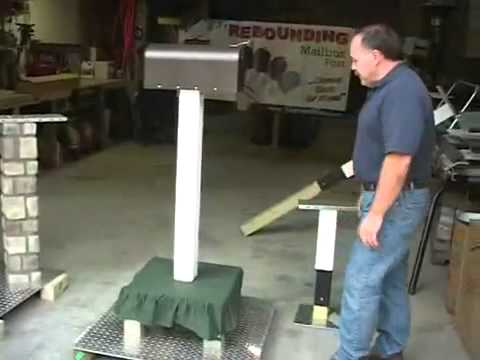 The Amazing MICHIGAN MADE Rebounding Mailbox Post YouTube