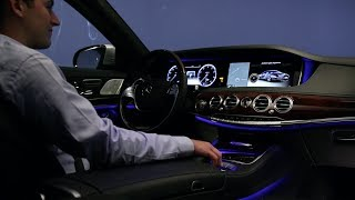 2014 Mercedes-Benz S-Class Interieur Lighting System / Mercedes S-Klasse 2014 - Ambient Light