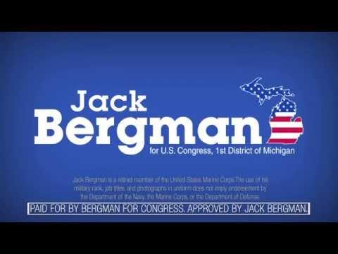 """""""Conservative Outsider"""" - Lt. General Jack Bergman for Congress"""