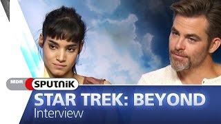 Star Trek: Beyond - Interview mit Chris Pine, Zachary Quinto & Sofia Boutella