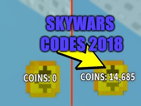 ROBLOX SKYWARS 2019 *ALL THE CODES* (Link in the ...