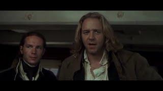 Речь капитана Джека перед сражением ... отрывок из фильма (Хозяин Морей: На Краю Земли)2003