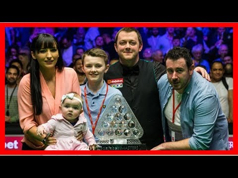 Northern Ireland's Mark Allen won the title the first Masters UK