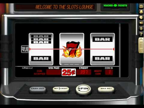 Slots Lounge - Free Online Games - Blazing 7