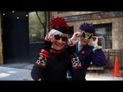 Trailer do filme Advanced Style - Vovós Fashion