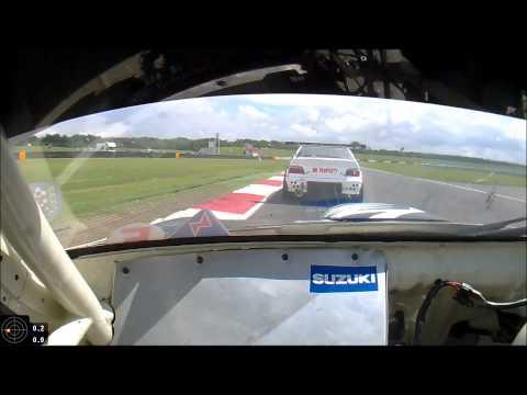 Hayabusa Cappuccino Eurosaloons Snetterton 2014 Race-1