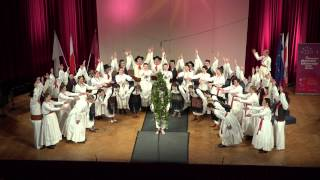 13. International Choral Competition Gallus, Maribor 2015, APZ Maribor - Zeleni Jurij (M. Dović)
