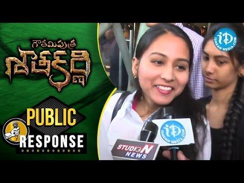 Gautamiputra Satakarni Movie Public Response @ Prasads IMAX    Balakrishna    Shriya Saran    Krish