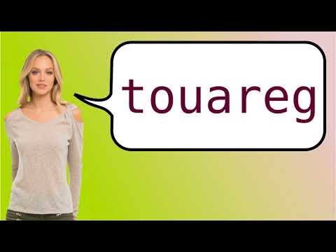How to say 'Tuareg' in French?