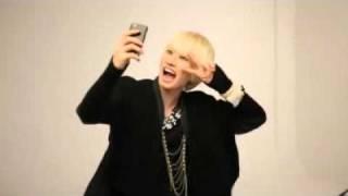 LG Optimus Glare Photoshoot BTS - Eunhyuk
