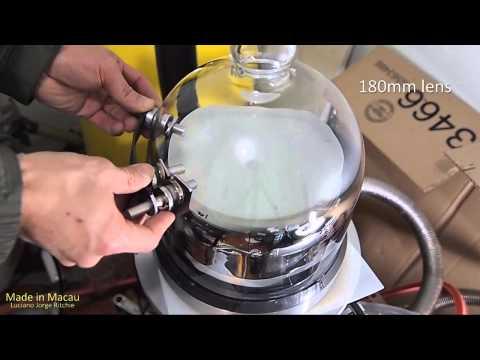 Vacuum chamber recoating mirror big binoculars