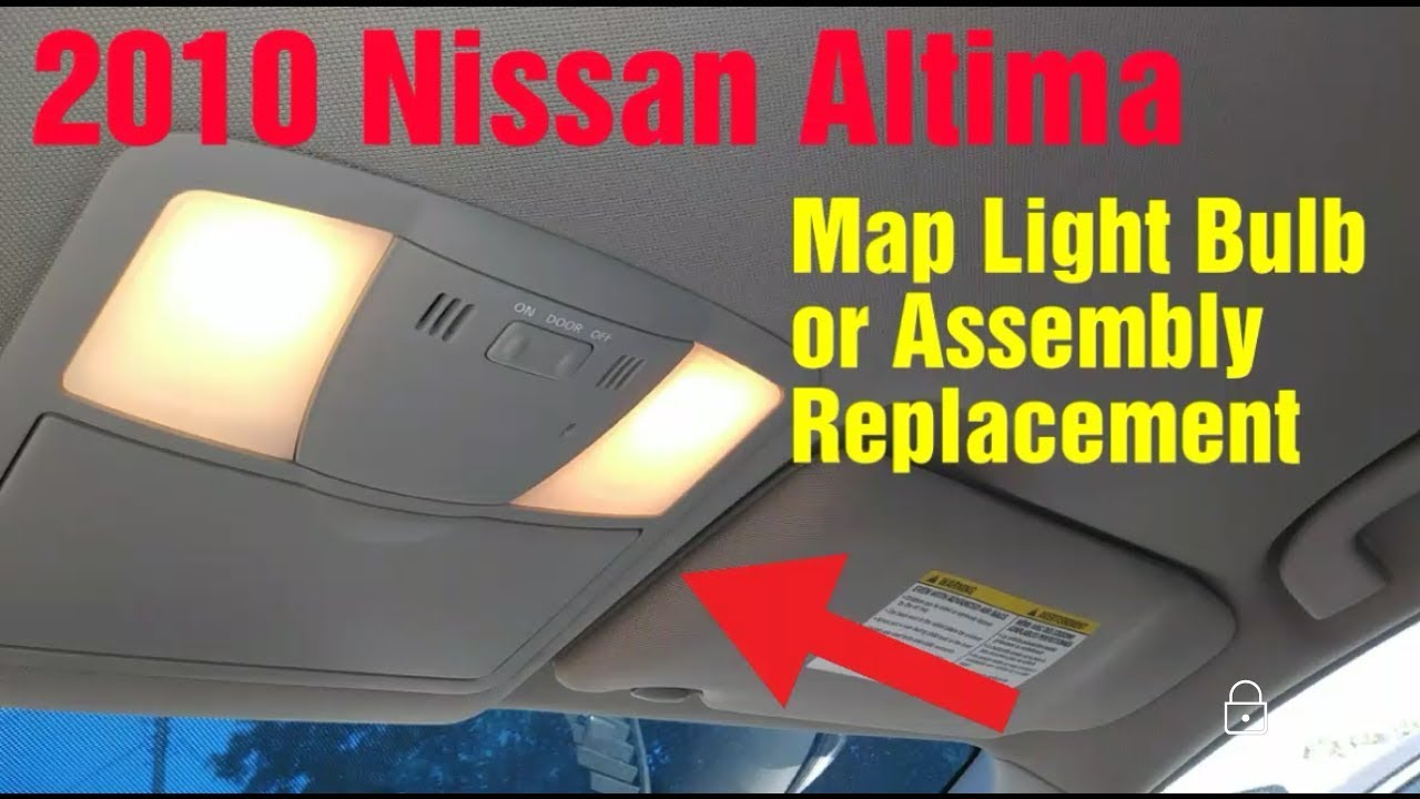2010 Nissan Altima Map Light Bulb Embly Replacement