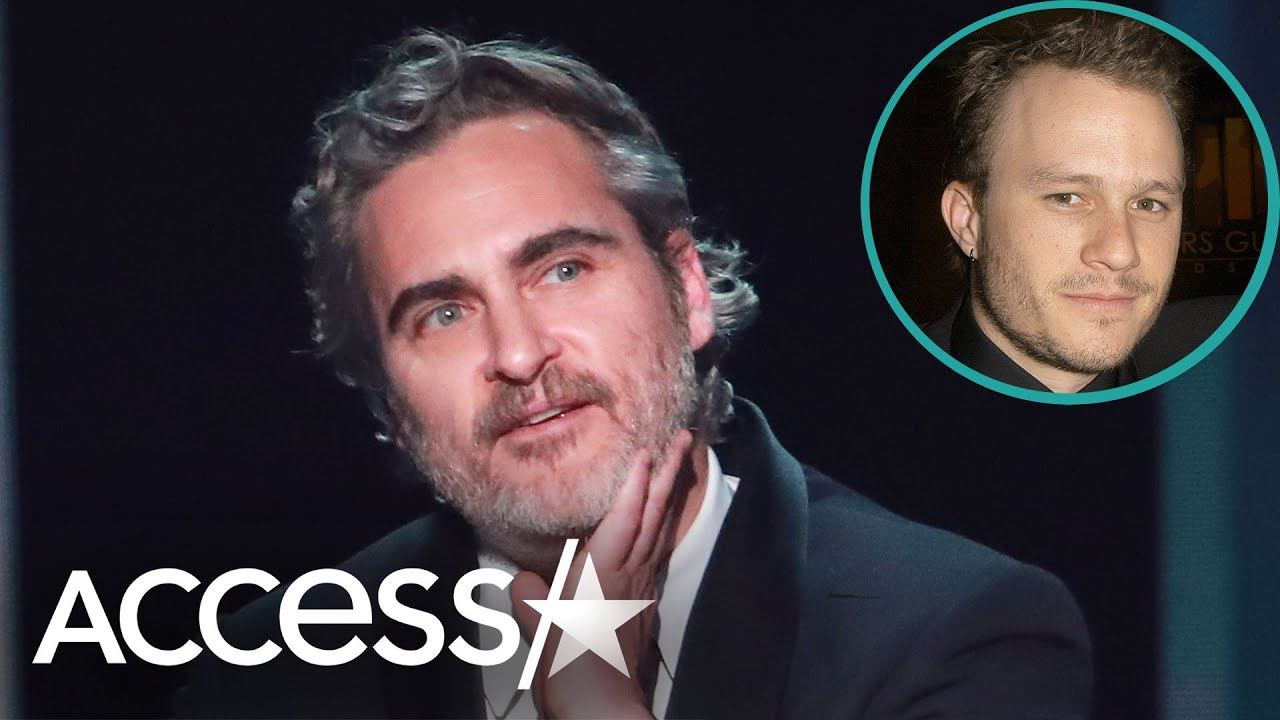 Joaquin Phoenix Honors Late Heath Ledger With SAG Awards Win: 'I'm Standing Here On [His] Shoulders'