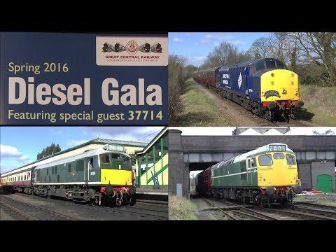 """GCR Diesel Gala""  ""Featuring  37714""  20/03/16"