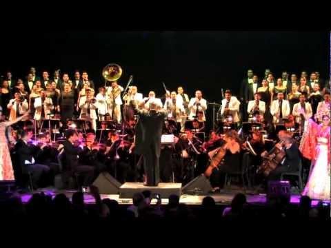 Clausura 40 Festival Internacional Cervantino. La OSSLA y la Original Banda El Limón