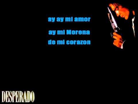 Cancion del Mariachi (Morena de mi Corazon) [ KARAOKE ]
