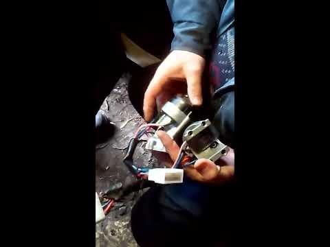 Ремонт ВАЗ (Замена замка зажигания ВАЗ-21099)