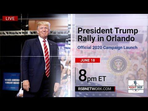 LIVE: President Donald Trump MASSIVE Rally in Orlando, FL 6/18/18