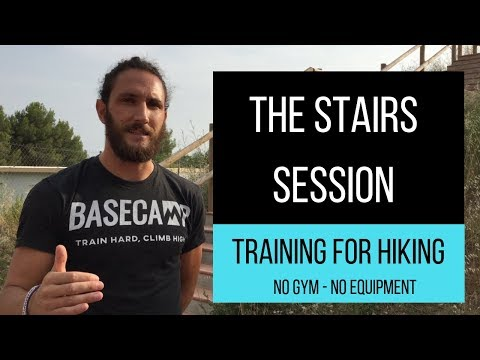 Training for Hiking Using Stairs Sessions