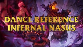 Infernal Nasus Dance Reference - Snoop Dogg - Drop It Like It