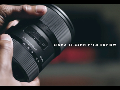 Sigma 18-35mm f/1.8 Review (Best APS-C Lens?)
