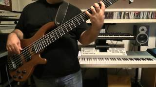 Bass Cover - Killing Joke - In Cythera - with Wal bass Mk3