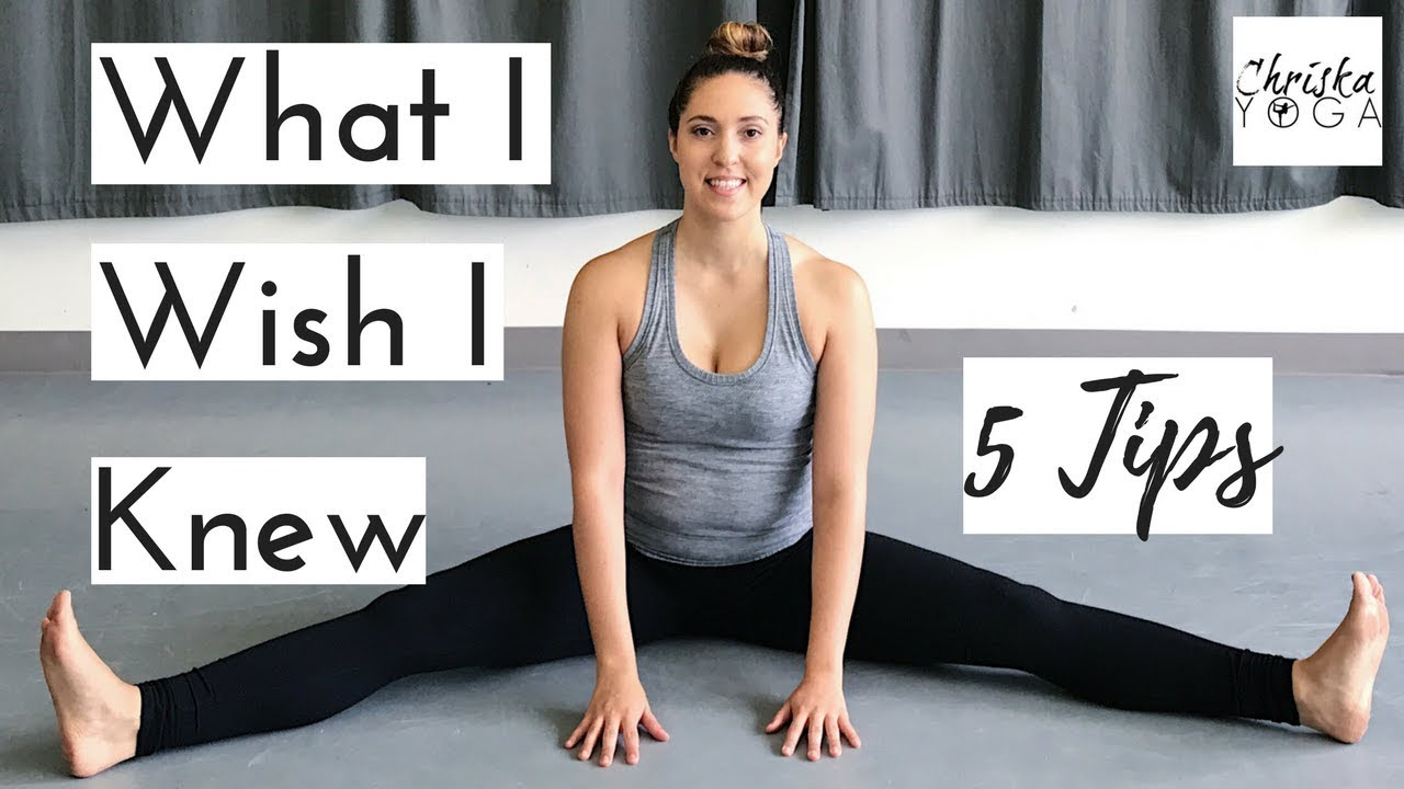 Advice For Yoga Beginners 5 Yoga Tips For Beginners Suggestions For How To Start Yoga Youtube
