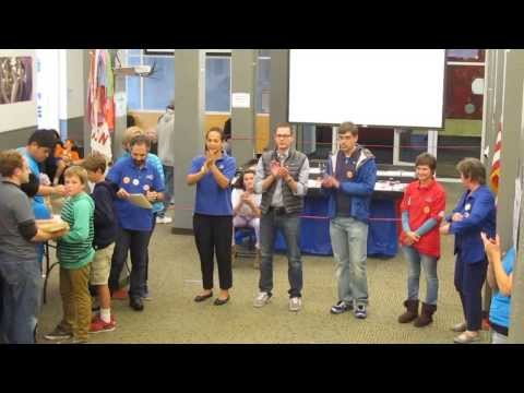FIRST FLL 2013 NorCal Peninsula Competition award ceremony - Bay School San Francisco