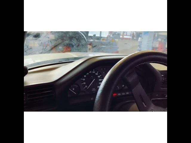 BMW E30 swap M30B35 - Engine Start