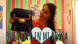 QUE LLEVO EN MI BOLSA ? / TAG !! ❤ | Priscila Thumbnail