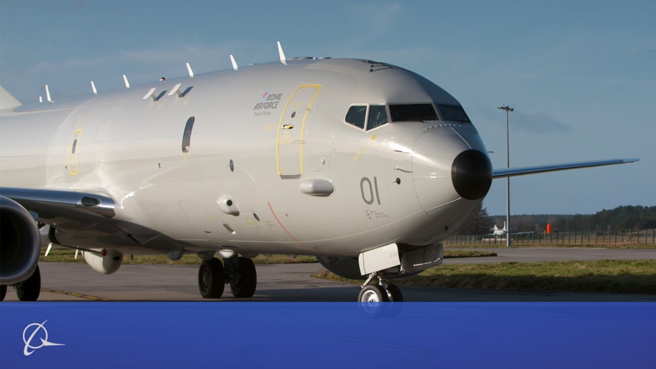 Resultado de imagem para Boeing P-8A Poseidon for the Royal Air Force