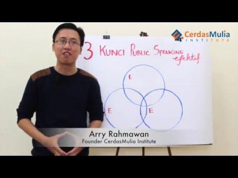 3 Kunci Public Speaking Efektif - Belajar Public Speaking | Klub Pengembangan Diri Indonesia