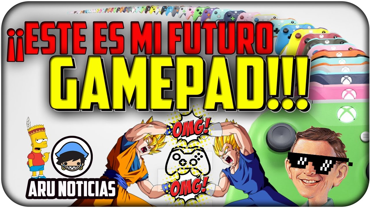 ¡¡ESTE ES MI FUTURO GAMEPAD!! Noticia - Xbox Design Lab - Español