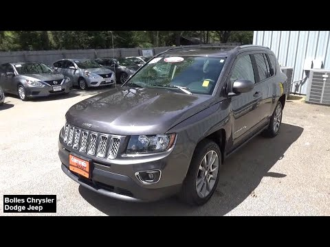 2016 Jeep Compass Stafford Springs, Enfield, Somers, CT, Monson, East Longmeadow, MA A871849