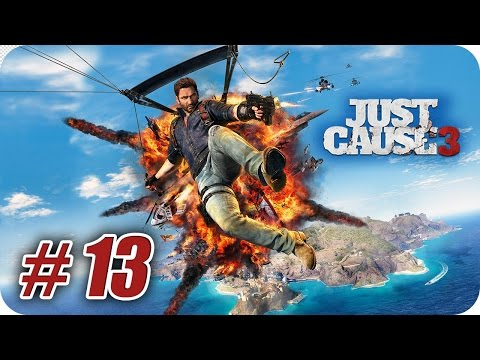 Just Cause 3 - Gameplay Español - Capitulo 13 - El Guardián en el Muro - 1080pHD
