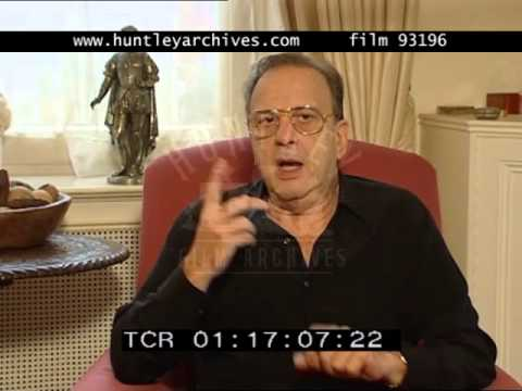 Ronald Harwood on Adrian Brody, 2000's  Film 93196