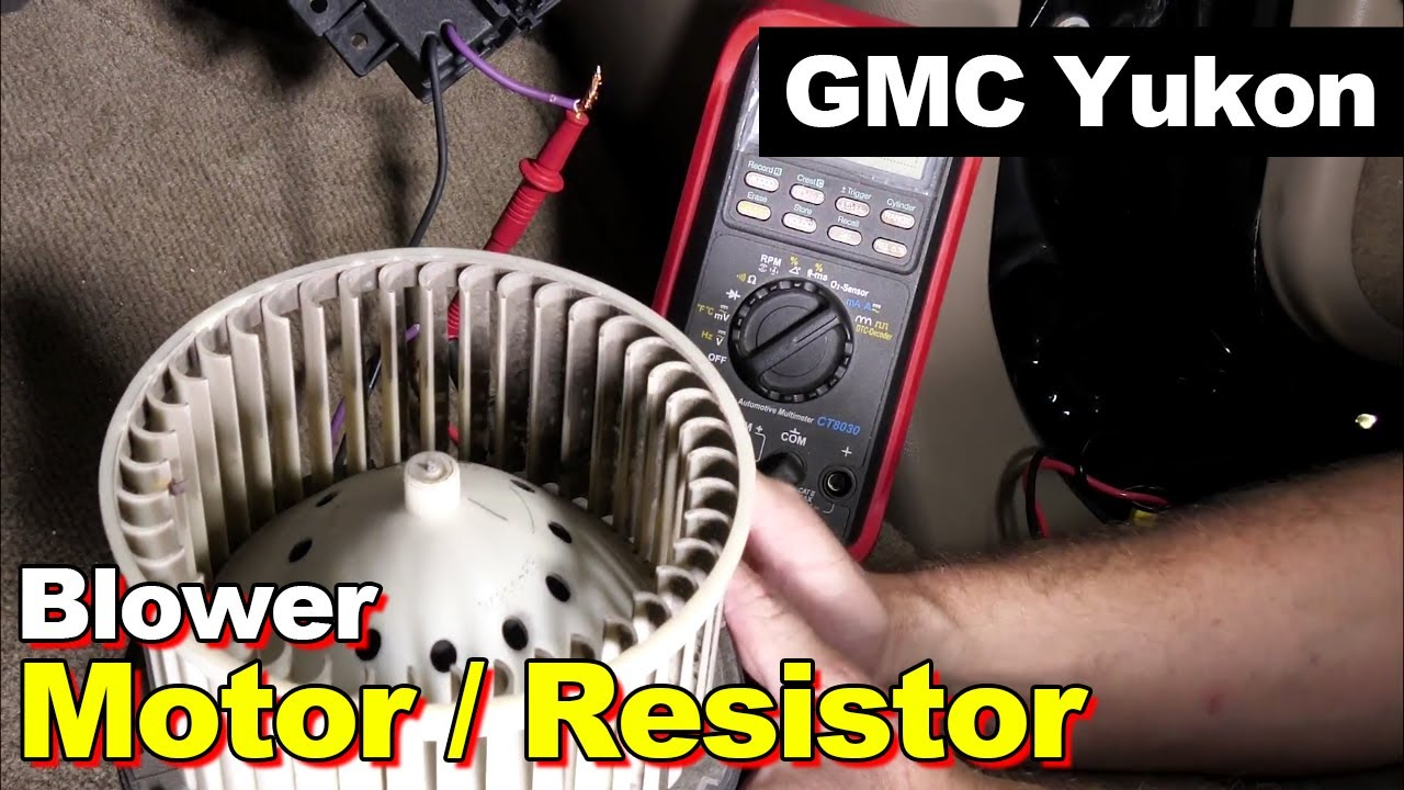 blower motor resistor replacement wire splice splicing amperage draw test blower motor stays on [ 1280 x 720 Pixel ]