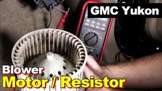 Blower Motor Resistor Replacement Wire Splice Splicing & Amperage Draw Test Blower Motor Stays On