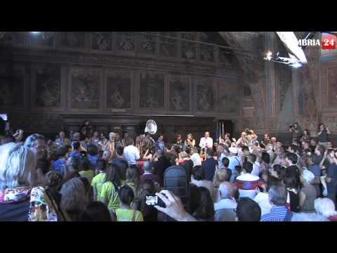 Umbria Jazz 2013, alla sala dei Notari di Perugia la festa dei 40 anni con i Funk Off
